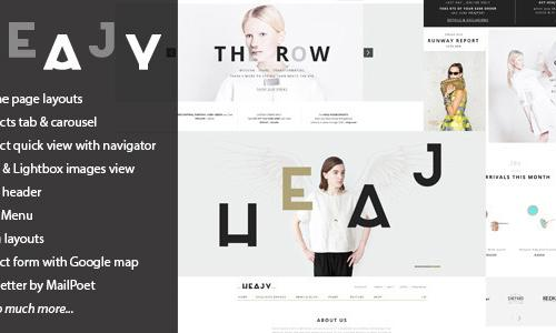 Heajy - Handmade Fashion WordPress...