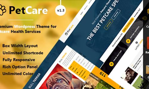 PetCare - Responsive WordPress The...