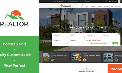 Realtor - Responsive Real Estate W...