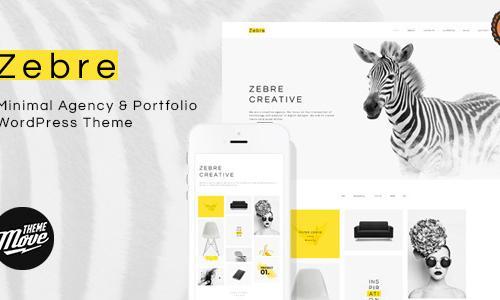 Zebre - Minimal, Agency & Porfolio...