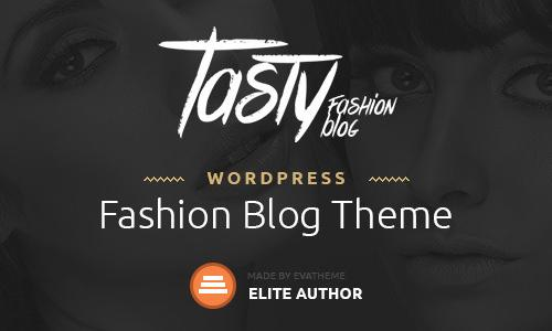 Tasty - Responsive Blog WordPress ...