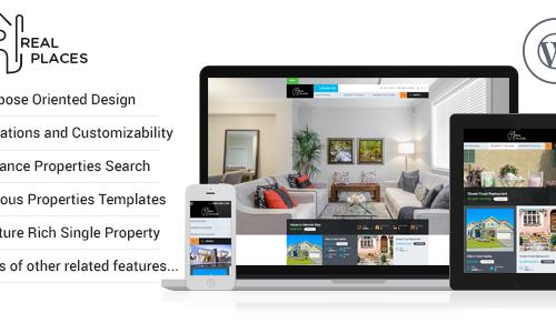 Real Places - Responsive WordPress...