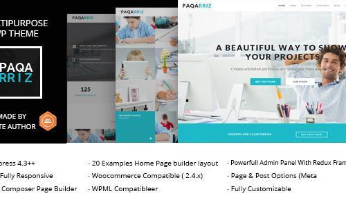 Paqarriz - Multipurpose WordPress ...
