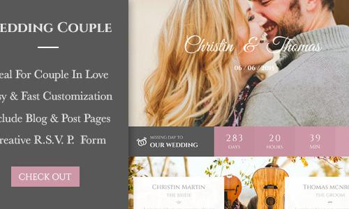 Wedding Couple - Love Page For Wed...
