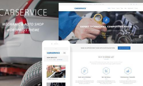 Car Service - Mechanic Auto Shop W...