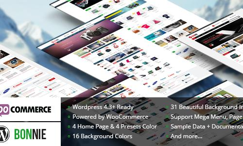 VG Bonnie - Creative WooCommerce W...