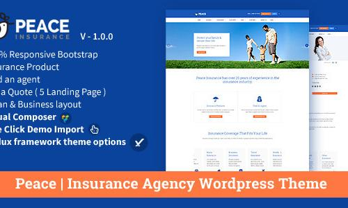 Peace – Insurance Agency WordPre...