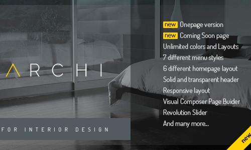 Archi - Interior Design WordPress ...