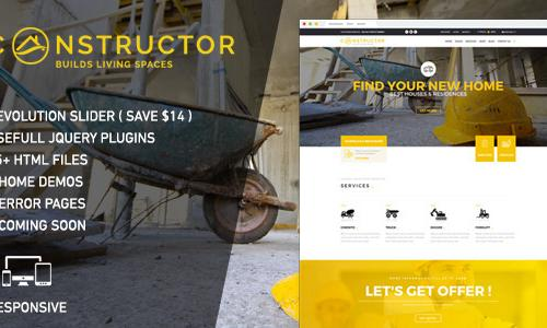 Constructor | WordPress Theme