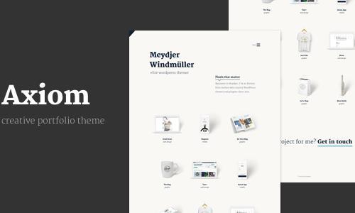 Axiom - Creative Portfolio Layers ...