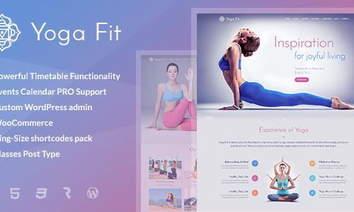 Yoga Fit - Sports, Fitness & Gym W...