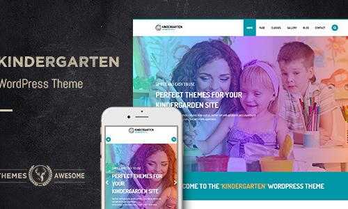 Kindergarten WordPress Theme for C...