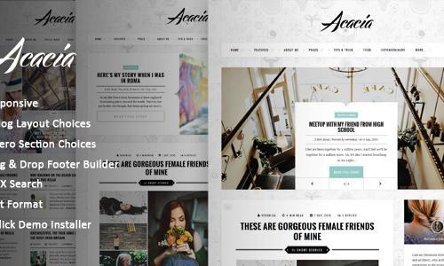 Acacia | Classy & Responsive WordP...