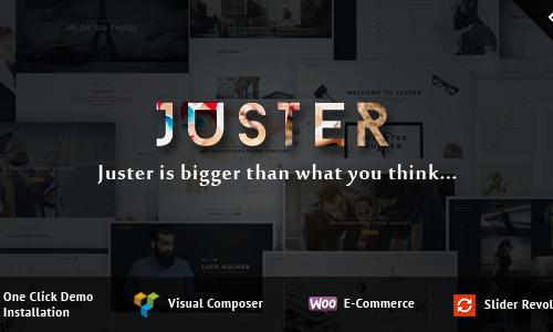 Juster Multi-Purpose WordPress The...