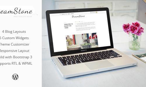 DreamStone - Personal WordPress Bl...