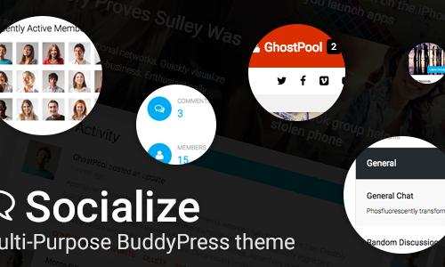 Socialize: Multi Purpose BuddyPres...