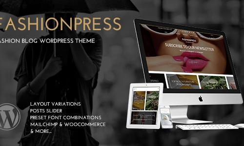 FashionPress WordPress Theme for F...
