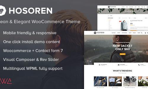 Hosoren - Clean & Elegant WooComme...