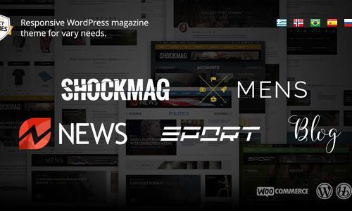 Shockmag: Magazine/Blog theme for ...