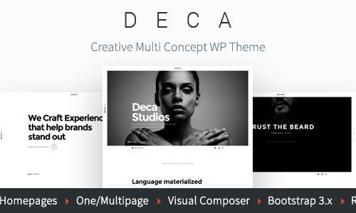 DECA - Creative Multi Concept WP T...