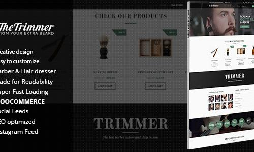 Trimmer - WordPress Theme for Barb...