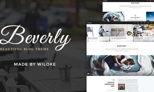 Beverly - Modern WordPress Blog Th...
