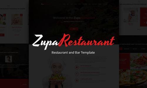 ZupaRestaurant - Business Wordpres...