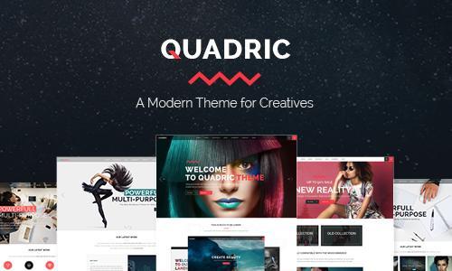 Quadric - A Modern Theme for Creat...