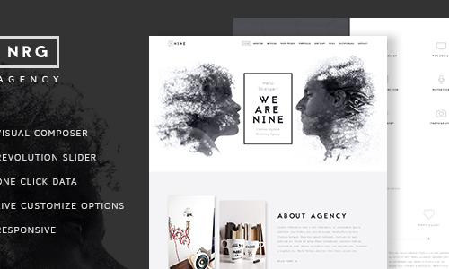 NRGagency - Creative One-Page Agen...