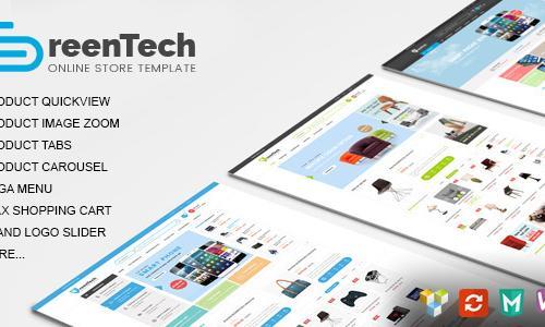 GreenTech - Shopping Responsive Wo...