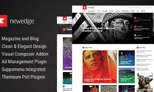 NewEdge - Responsive WordPress Mag...