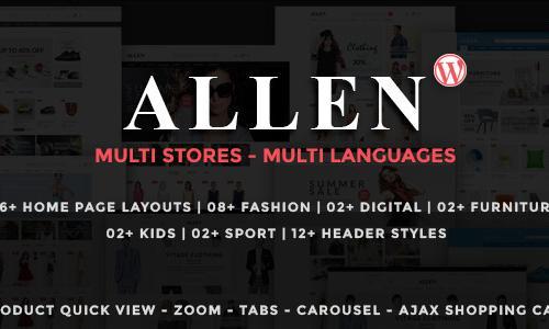 Allen - Multipurpose Responsive Wo...