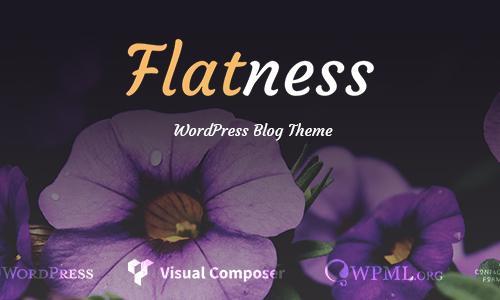 Flatness - Personal Wordpress Blog...
