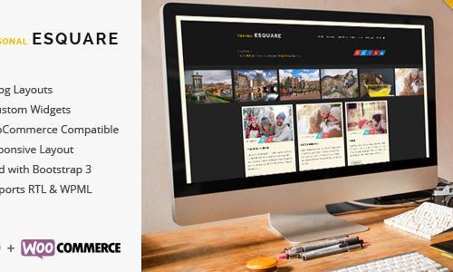 Esquare - Responsive WordPress Blo...