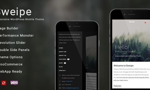 Sweipe - Responsive WordPress Mobi...
