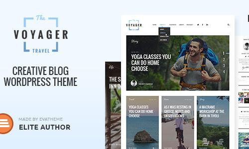 Voyager — Creative Blog Wordpres...