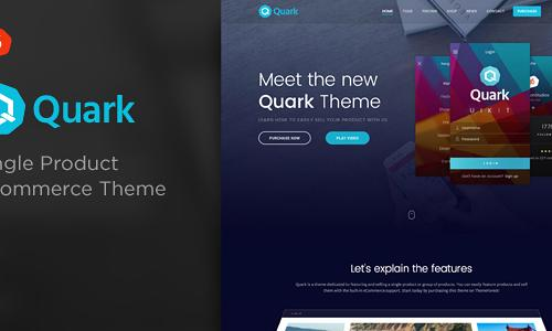 Quark - Single Product eCommerce T...