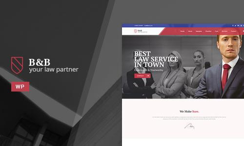 B&B - Law & Attorney WordPress The...