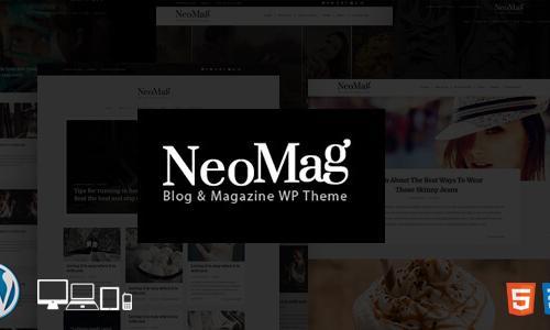 NeoMag - Responsive Blog & Magazin...