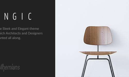 Engic - A Sleek Multiuse WP Theme ...