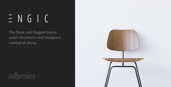 Engic - A Sleek Multiuse WP Theme for Architects