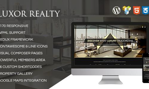 LUXOR - Responsive WordPress Real ...