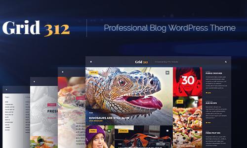 Grid312 - Professional Blog WordPr...