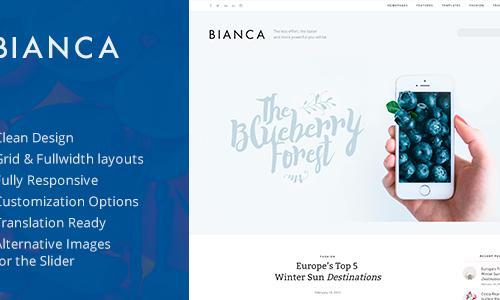 Bianca — Clean Blog WordPress Th...