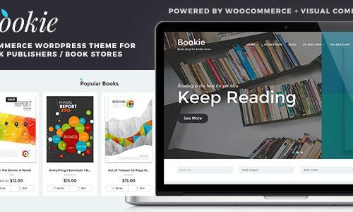 Bookie - WordPress Theme for Books...