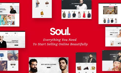 Soul - Responsive Ajax WP WooComme...