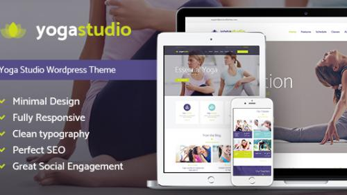 Yogastudio - Yoga, Gym and Healthcare WP Theme