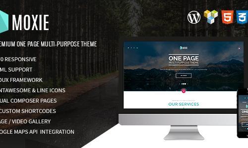 MOXIE - One-page multi-purpose Wor...