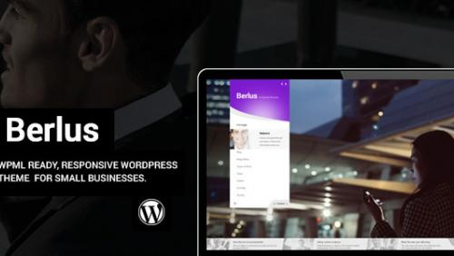 Berlus - Unique Business and Law Firm WordPress Theme