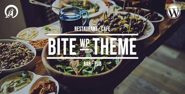 Bite - Professional Restaurant WordPress Theme